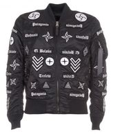 Marcelo Burlon County of Milan Patches Bomber Jacket