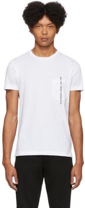 Diesel White Rubin-Pocket-J1 T-Shirt