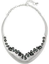 Robert Lee Morris Black Diamond Stone Collar Necklace