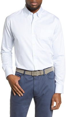 Peter Millar Black Balsam Button-Down Shirt