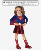 Rubie Enterprises, Ltd. Supergirl Costume, Little Girls (2-6X) & Big Girls (7-16)
