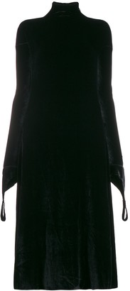 aganovich High Neck Shift Dress