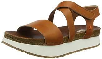 Art 0587 Mojave Mykonos, Women's Open Toe Sandals, Brown (Cuero), (40 EU)