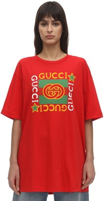 Gucci Star Print Jersey T-Shirt
