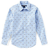 Brooks Brothers Little/Big Boys 4-20 Button-Down Fish-Embroidered Shirt