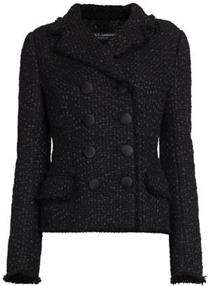 Dolce & Gabbana Boucle Double Breasted Jacket