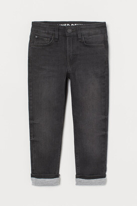 H&M Skinny Fit Lined Jeans