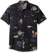 Volcom Men's No Vacancy Short Sleeve Shirt