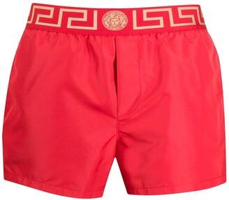 Versace Greca Key swimming trunks