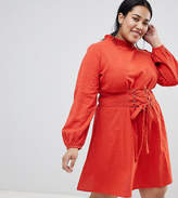 Asos Casual Dress with Corset Detail