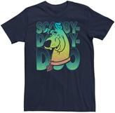 Scooby-Doo Unbranded Men's Gradient Portrait Graphic Tee