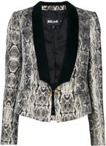 Just Cavalli snakeskin print dinner jacket