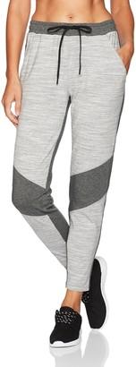 Shape Fx Women's Fifty Color Block Jogger Pant