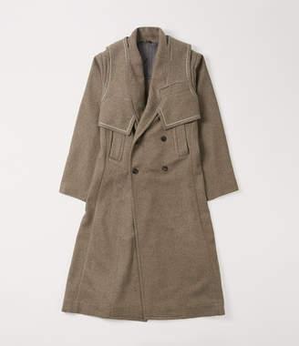 Vivienne Westwood Yak D.B. Coat Natural Brown
