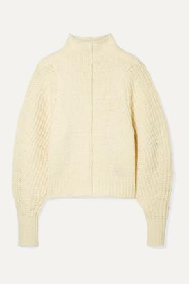 Isabel Marant Edilon Wool-blend Turtleneck Sweater - Ecru