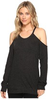 Lanston Long Sleeve Cold Shoulder Pullover