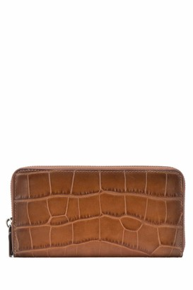 Coach Accordion Embossed Wallet