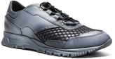 Lanvin Running Leather Spray Sneakers