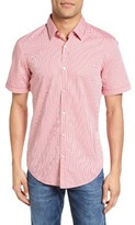 BOSS Men's Ronn Extra Trim Fit Check Sport Shirt