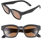 Toms Men's Bowery 51Mm Sunglasses - Matte Black