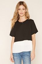 Forever 21 FOREVER 21+ Colorblocked Combo Top