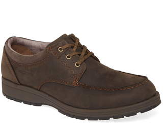 Hush Puppies Beauceron Water Resistant Moc Toe Derby