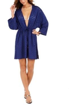 Dotti Mayan Laser-Cut Tunic Cover-Up Women's Swimsuit
