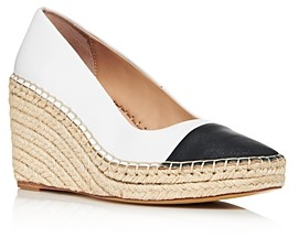 Charles David Women's Glider Espadrille Wedge Pumps
