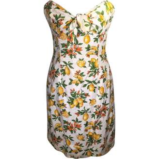 Milly \N Yellow Cotton Dress for Women