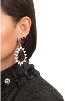 Kenneth Jay Lane Faceted Earrings with Crystals
