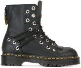 Dr. Martens eyelet detail combat boots