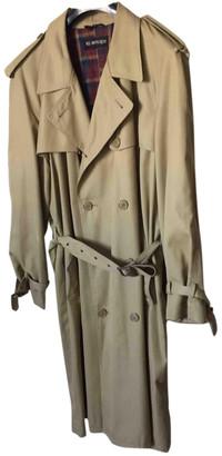 Saint Laurent Beige Cloth Coats