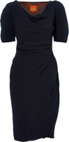 Vivienne Westwood Midi Amber Dress Midnight Blue Size 40