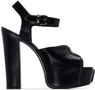 Givenchy 135mm Platform Open Toe Sandals