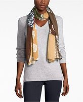 Echo Geo Patchwork Oblong Scarf