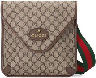 Gucci Men's GG Supreme Crossbody Bag