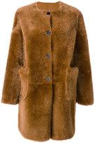 Marni shearling fur coat - women - Sheep Skin/Shearling - 42