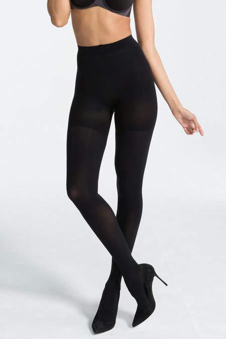 0e545d0b870 Spanx Luxe Leg Tights - Black - ShopStyle