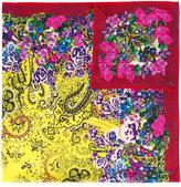 Etro floral print scarf - women - Silk/Cotton/Cashmere - One Size