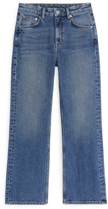Arket FLARED Cropped Jeans