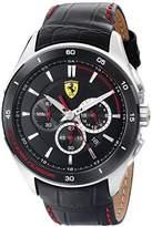 Ferrari Men's 0830182 Gran Premio Analog Display Quartz Black Watch