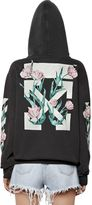 Off-White Arrows & Tulips Washed Hooded Sweatshirt