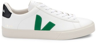 Veja V-10 Classic Low-Top Coated Canvas Sneakers