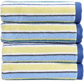 Christy Portobello Stripe Towel - Blue - Bath Towel