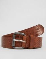 Diesel B-trace Leather Belt
