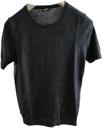 Jil Sander Anthracite Wool Top for Women