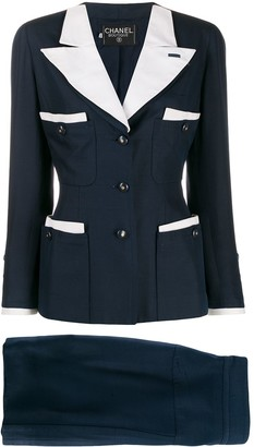 Chanel Pre Owned 90's Two-Piece Suit