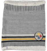 G Iii Women's G-III Sports by Carl Banks Pittsburgh Steelers Warm Up Striped Tube Scarf