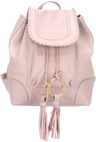 See by Chloe Polly backpack - women - Cotton/Calf Leather - One Size