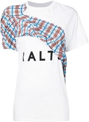 Aalto logo contrast T-shirt